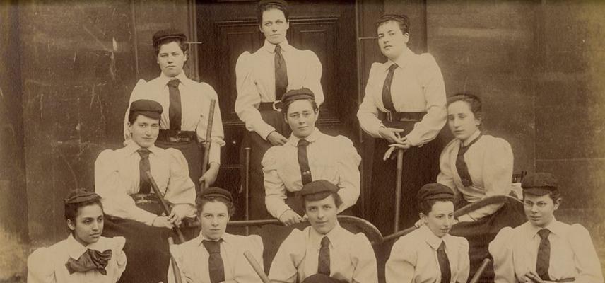 somerville college hockey team c 1892